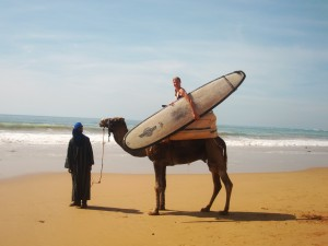 Transport between surf breaks, Taghazhout, Morocco